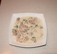 Соус Сливочный с грибами