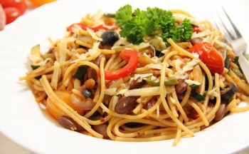 Спагетти вегетариансие